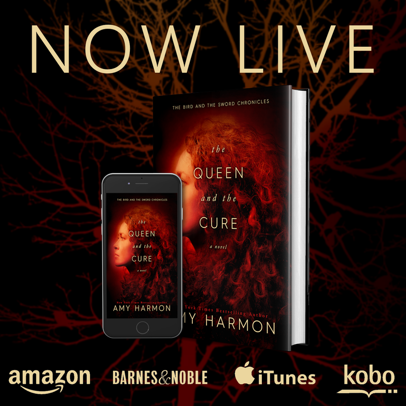 The Queen and The Cure by Amy Harmon is LIVE!